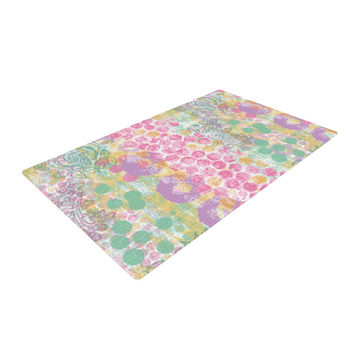 "Chickaprint ""Impression"" Pastel Mix Woven Area Rug"