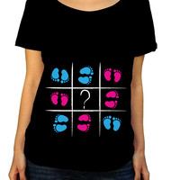 Tic Tac Toe Gender Reveal Shirt
