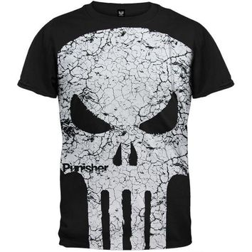 PEAPGQ9 Punisher - Cracked Face T-Shirt