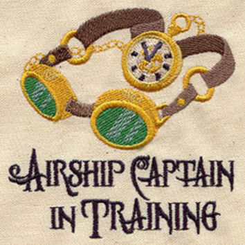 Steampunk Airship Captain in Training by MorningTempest on Etsy