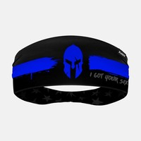 Warrior Thin Blue Line Headband