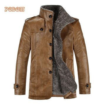 Men's Retro PU Leather Jackets
