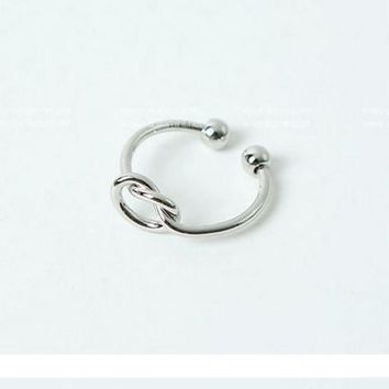 Knot Toe Ring