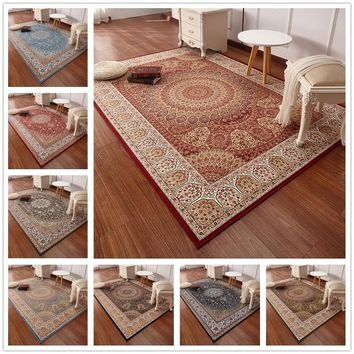 Persian Style Carpets For Living Room Luxurious Bedroom Rugs And Carpets Classic Turkey Study Floor Mat Coffee Table Area Rug