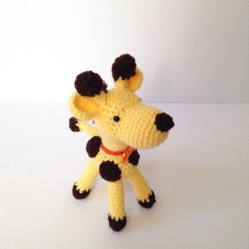 Amigurumi Giraffe Crochet Giraffe Stuffed Animal Stuffed Toy Giraffe Kids Toy Kawaii Giraffe Plush Easter Gift Ideas