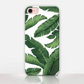 Banana Leaves Phone Case - iPhone 7 Case - iPhone 7 Plus Case - iPhone SE Case - iPhone 6S case - iPhone 6 case - iPhone 5 Case  Samsung S7