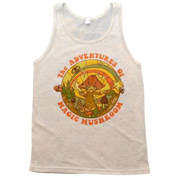 The Adventures of Magic Mushroom Tank Top