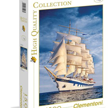The Great Sailing Ship - 1500 Piece Jigsaw Puzzle