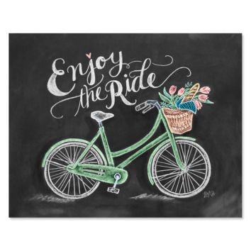 Enjoy The Ride - Print & Canvas