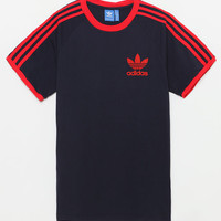 adidas California Navy & Red T-Shirt at PacSun.com