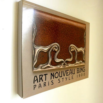 Art Nouveau Bing Reference Book // Paris Style 1900 by Gabriel P. Weisberg // Vintage 1980s Smithsonian Art