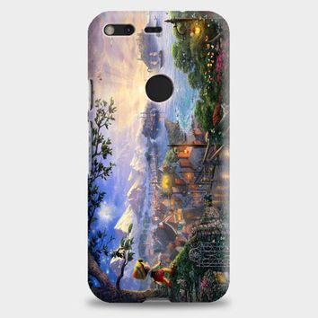 Disney Peter Pan Tink Fairy Wings Pixie Dust Bun Google Pixel XL 2 Case