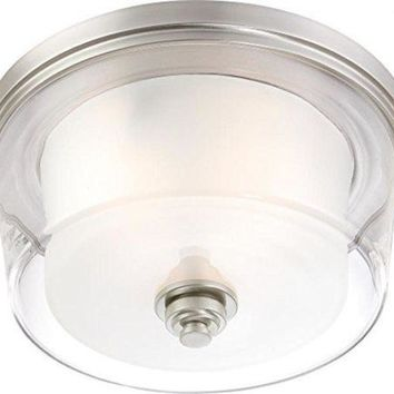 """Nuvo 60-4652 - 16"""" Flush Mount Light Fixture in Brushed Nickel Finish"""