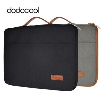 "dodocool 13 Inch Laptop Bag for Macbook 13 Case Nylon Zipper Sleeve Carrying Case Notebook Protective Cover for 13"" MacBook Pro"