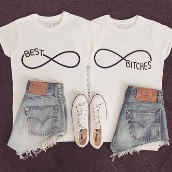 Fashion  letters printed shirt