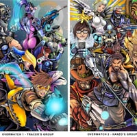 "11x17"" Overwatch (2 DIFFERENT prints- INDIVIDUALLY or as a SET)"