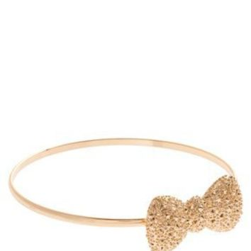 ASOS | ASOS Skinny Bow Arm Cuff at ASOS