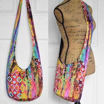 Shop Fabric Hobo Bags on Wanelo