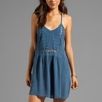 Ladakh Amazon Tribe Dress in Denim from REVOLVEclothing.com