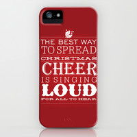 Christmas Cheer iPhone & iPod Case by Inked Design Studio