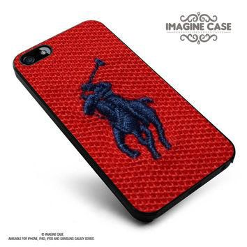 Polo Ralph Lauren Original Logo in Red case cover for iphone, ipod, ipad and galaxy se