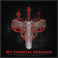 My Chemical Romance - Double Gun - Sew On Patch - FREE SHIPPING