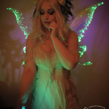 The Green Fairy Light Up Iridescent Wings