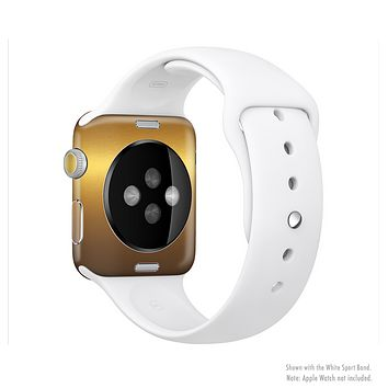 The Gold Shimmer Surface Full-Body Skin Set for the Apple Watch