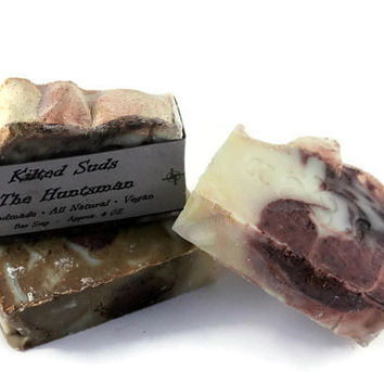 Spring 20% Off Sale The Huntsman Soap, Masculine Bar Soap, Manly Soap, Rustic Soap, Vegan Soap, Handmade Soap, Olive Oil Soap, Natural Soap