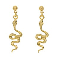 Serpent Charm Earrings