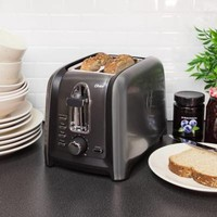 Oster® 2-Slice Toaster in Black Stainless
