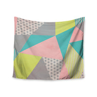 "Louise Machado ""Geometric Pastel"" Wall Tapestry"
