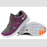 NIKE running shoes light casual shoes Purple