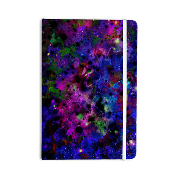 "Ebi Emporium ""Color Me Floral"" Celestial Blue Everything Notebook"