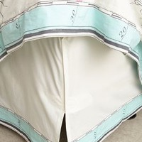 Tradewinds Bed Skirt by Anthropologie Multi