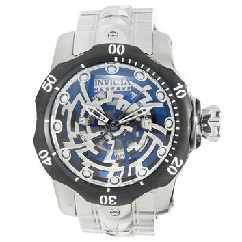 Invicta 15989 Men's Venom Skeleton Dial Steel Bracelet Dive Watch