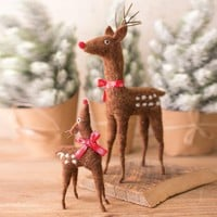 Felt Deer (Set of 2)
