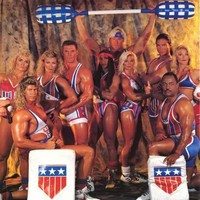 American Gladiators Live Tour 1991 Poster 22x34