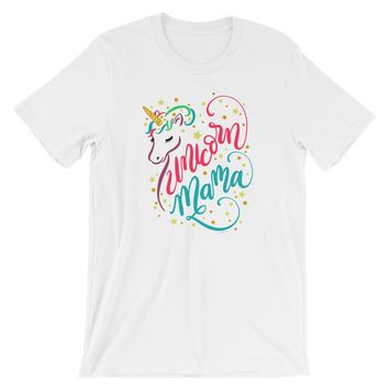 Unicorn Mama Shirt Unicorn Mom Shirt - Shipping Included