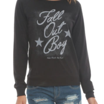 Fall Out Boy Stars Long-Sleeved Girls Top
