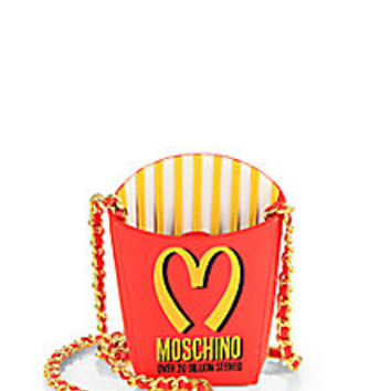Moschino - Fries Crossbody Bag - Saks from Saks | It\u0026#39;s In The Bag