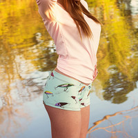 CamoGirl Lure Fishing Swim Shorts - Semi Cheeky | CamoGirl™