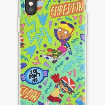 'Rocket Power Nickelodeon Group ' iPhone Case by AbbysRadArt