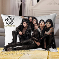 Andy Biersack Black Veil Brides on Rectangle Pillow Cover