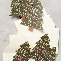 Rifle Paper Co. Tree Trimmings Card Set in Green Size: Set Of 8 House & Home
