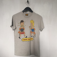 Beavis and Butthead shirt, vintage t shirt 90s cartoon shirt funny t-shirt stoner tshirt 90s grunge era Mtv tee Mike Judge small