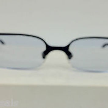 NEW LA EYEWORKS VEEP 593 COL BLUE TITANIUM EYEGLASSES OR SUNGLASSES FRAME LAE