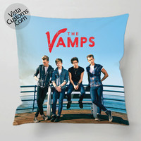 The Vamps Band pillow case, cover ( 1 or 2 Side Print With Size 16, 18, 20, 26, 30, 36 inch )