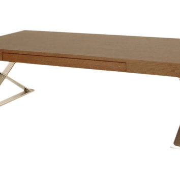 "Carlson 48"" Coffee Table, Espresso, Cocktail Table, Coffee Table Base"