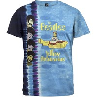 Beatles - Submarine Sidebar Tie Dye T-Shirt